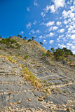 Costa pedregosa Foto de archivo libre de regalías