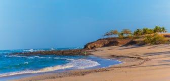 costa plażowy rica Zdjęcie Royalty Free