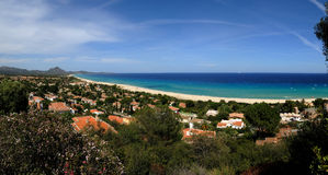 Costa Rei-Sardinia Royalty Free Stock Photography