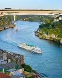 costa rejsy Douro rzeka porto Obrazy Stock