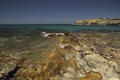 Costa in Rethymno Immagini Stock