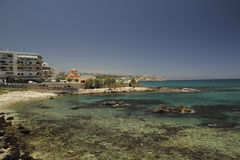 Costa Rethymno Fotografie Stock