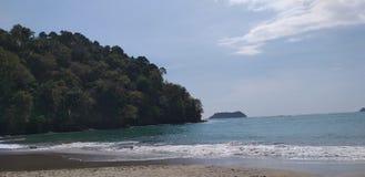 Costa Rica Beach, Manuel Antonio stock photo