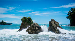 Costa Rica beach Royalty Free Stock Photography