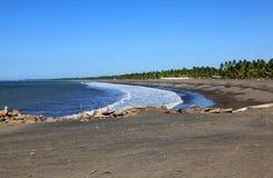 Costa Rica coastline by El Roble Royalty Free Stock Photography