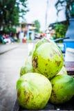 Costa Rica, Coconuts Stock Image