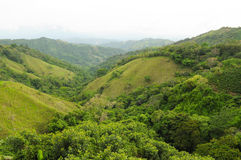 Costa Rica countryside. The lush, green countryside of Costa Rica Stock Image
