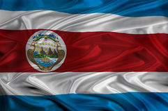 Costa Rica Flag Royalty Free Stock Images