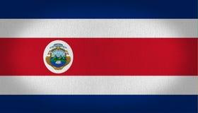 Costa Rica flag Royalty Free Stock Photo