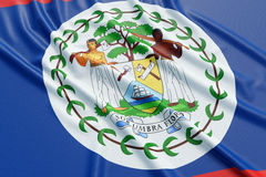 Costa Rica flag Royalty Free Stock Photos
