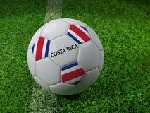 Costa Rica-Fußball Stockfotografie