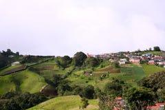 Costa Rica Grodzka Wysoka elewacja Obraz Stock