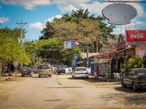 Costa Rica Image des Coco-Strandes Lizenzfreie Stockfotos
