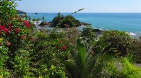 Costa Rica kustlinje Royaltyfri Fotografi