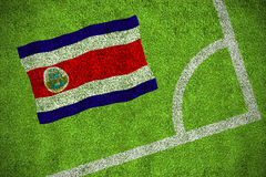 Costa Rica National Flag Foto de archivo