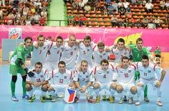 Costa Rica nationellt futsal lag Royaltyfri Foto