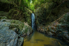 Costa Rica Nature Background Travel Destinations Rio Celeste Lizenzfreie Stockfotos