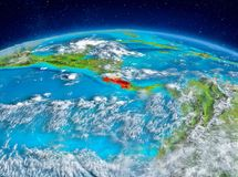 Costa Rica på jord Royaltyfria Bilder