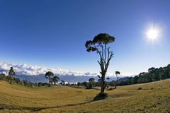 Costa-Rica Parque Nacional Volcan Irazu Fotos de Stock Royalty Free