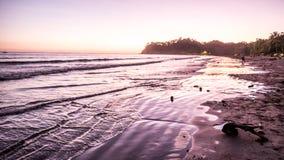 Costa Rica plaży podróży wakacje Turystyczna turystyka Bada pięknego Obrazy Royalty Free