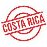 Costa Rica rubber stamp Stock Photography