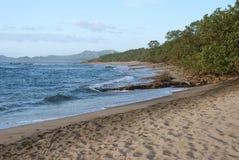 Costa Rica Shore. Stretch of shore along pacific coast of Costa Rica Royalty Free Stock Photos