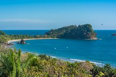 Costa Rica, spiaggia immagine stock libera da diritti