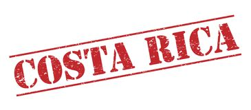 Costa Rica stamp Royalty Free Stock Image