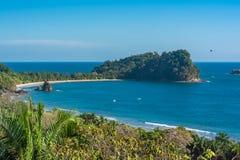 Costa Rica strand royaltyfri bild