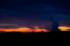 Costa Rica Sunset Royalty Free Stock Image