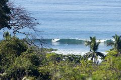 Costa Rica Surf Royaltyfria Foton
