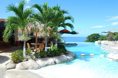 Costa Rica tropisk semester Royaltyfria Foton