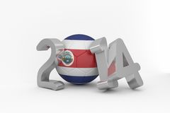 Costa rica world cup 2014 Stock Images