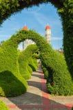 Hedges Topiary garden Zarcero Costa Rica Royalty Free Stock Image