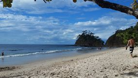 Costa Rican Beach Royalty Free Stock Photography