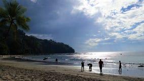 Costa Rican Beach Stock Photo