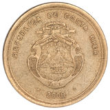 Costa Rican coin Stock Images