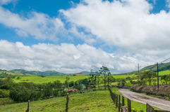 Costa Rican farm Stock Photo