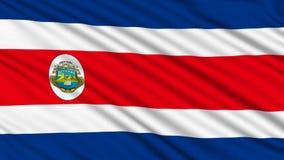 Costa Rican flaga. ilustracji