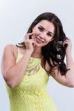 Costa Rican kobieta Obraz Royalty Free