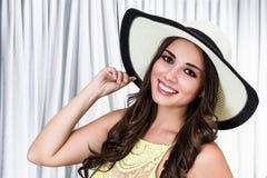 Costa Rican kobieta Obrazy Stock