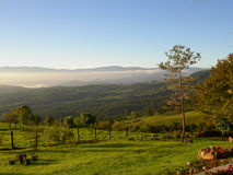 Costa Rican Landschaft Lizenzfreies Stockfoto