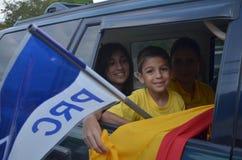 Costa Rican Presidential-verkiezingen 2014 Royalty-vrije Stock Afbeeldingen