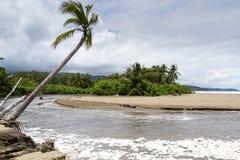 Costa Rican south pacific beach Stock Photo