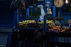 Costa Rican Street Vendor Fotografering för Bildbyråer