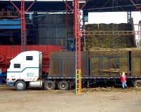 Costa Rican Sugar Cane Mill Stock Photos