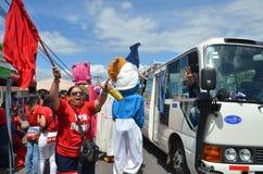 Costa Rican wybór prezydenci 2014 zdjęcie royalty free