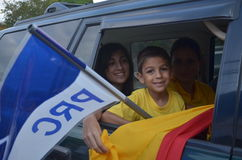 Costa Rican wybór prezydenci 2014 Obrazy Royalty Free