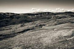 Costa rocciosa all'estremità di Verdens, Norvegia Fotografie Stock