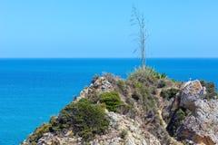 Costa rocciosa atlantica Fotografia Stock
